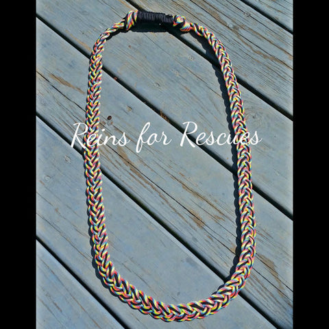 "Custom Neck Rope for Tackless Riding, 1"" Wide"
