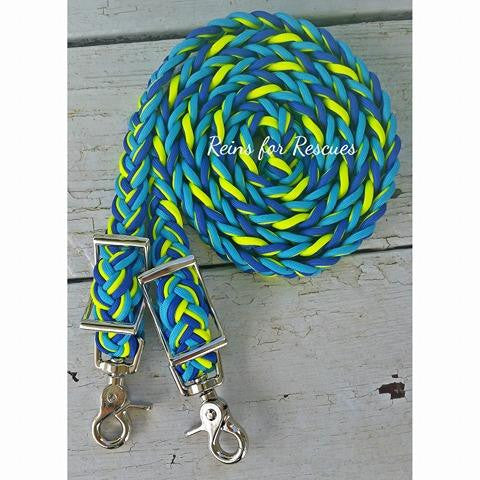 "RESCUE LINE:  ""Maggie's Second Chance"" Adjustable Riding Reins"