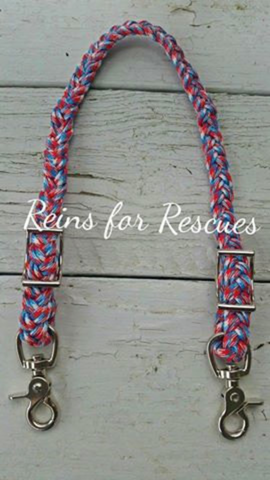Patriotic Wither Strap - Red, White & Blue Camo