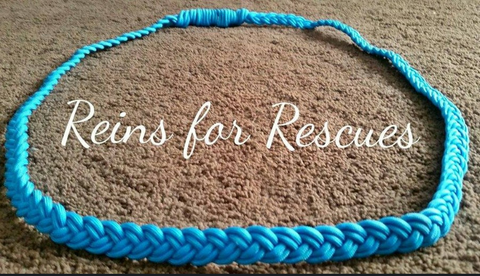 Turquoise Neck Rope for Tackless Riding
