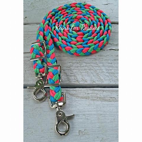 Little Mermaid Dreams Adjustable Riding Reins