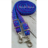"RESCUE LINE:  ""Paisley's Print"" Adjustable Riding Reins"