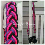 The Hot Pink, Purple & Black Feather Collection