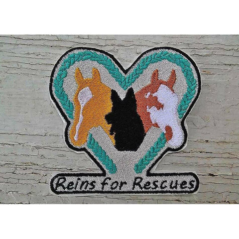Reins for Rescues Patch