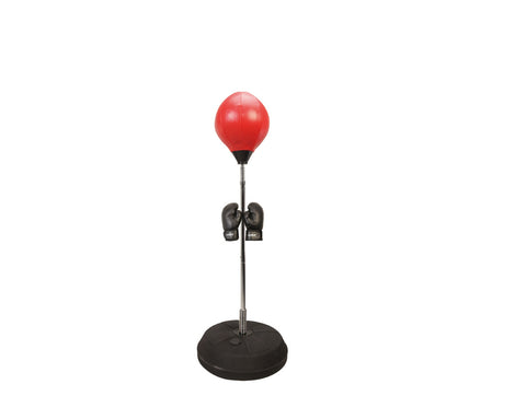 Floor Stand Boxing Ball + Boxing Gloves