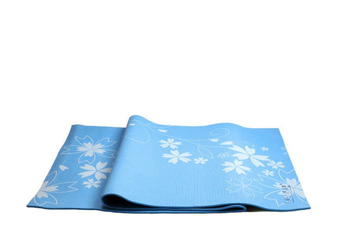 Premium Design Yoga & Pilates Mat - Blue