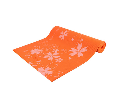 Premium Design Yoga & Pilates Mat - Orange
