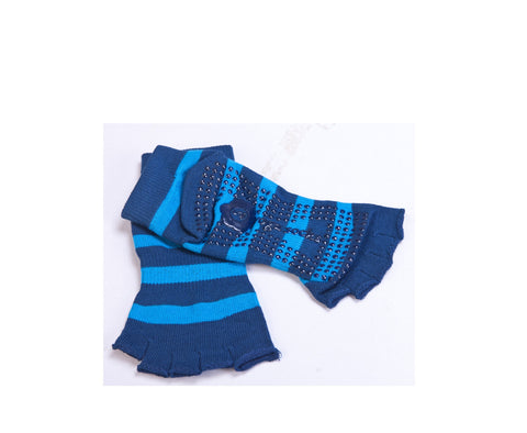 Premium Yoga Socks - Blue