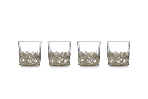 Exotica votive, silver set of 4