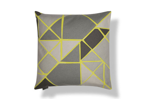 Grey tile cushion