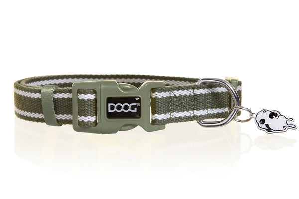 Canvas Dog Collar - Cambridge - ON SALE 25% OFF