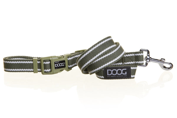 'Clip It' Canvas Dog Lead - Cambridge