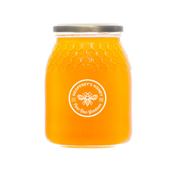 Geoffrey's Honey - Mega Family Honeycomb Jar - Free Delivery