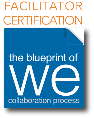 Blueprint of We Facilitator Certification ~ VIRTUAL Foundation Level 1; Downpayment