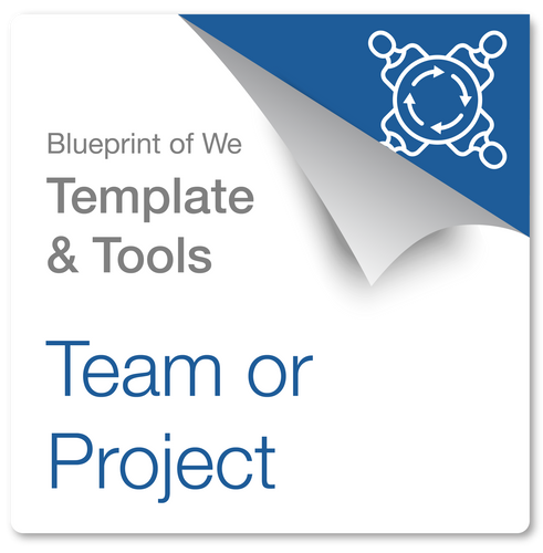 Project or Team: Blueprint of We Template & Collaboration Coaching