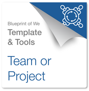 Project or Team Collaboration Design Deck, Template and Collaborative Awareness Coaching