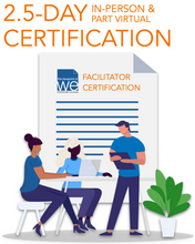 Load image into Gallery viewer, Blueprint of We Facilitator Certification 2.5-DAY IN-PERSON + VIRTUAL - Foundation Level