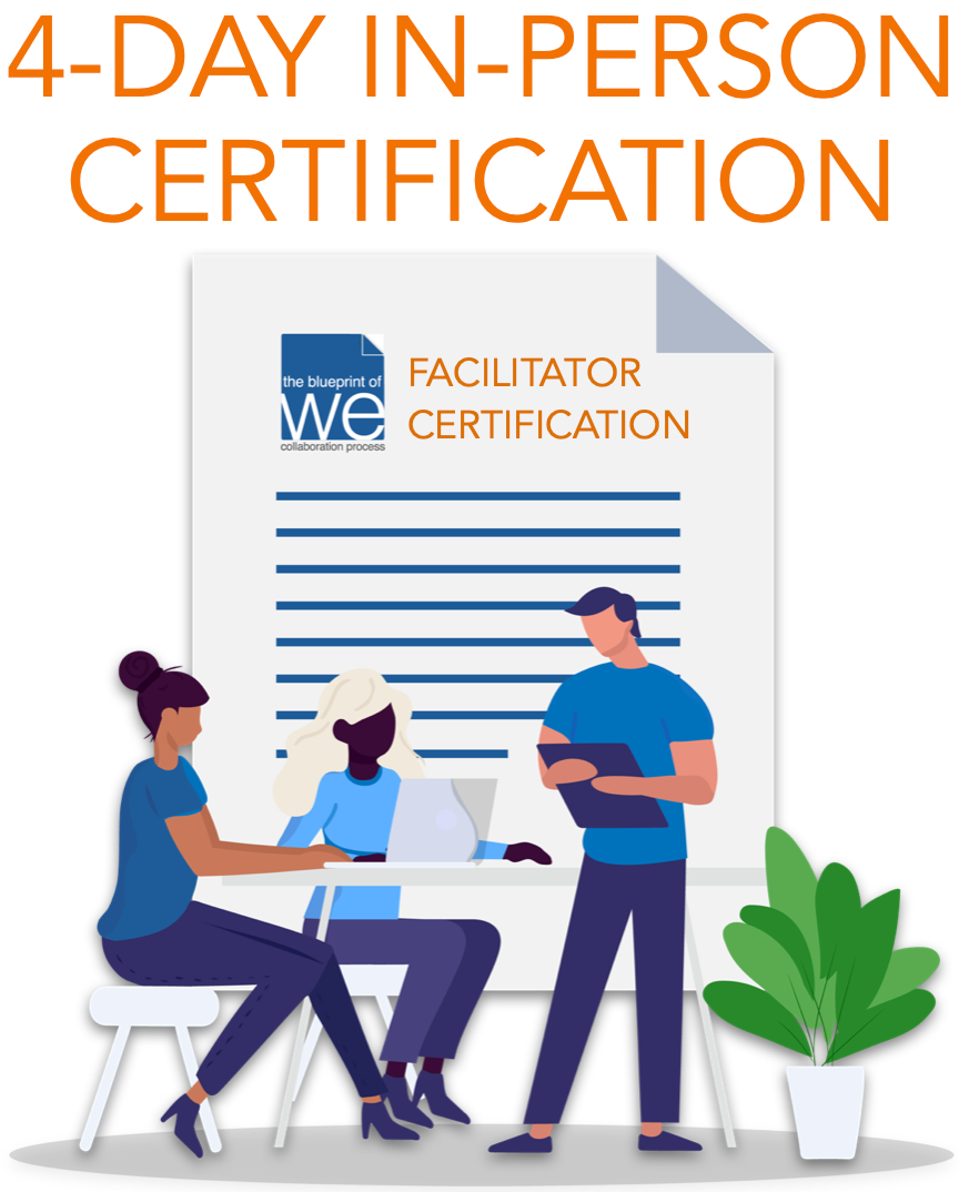 Blueprint of We Facilitator Certification 4-DAY IN-PERSON INTENSIVE - Foundation Level