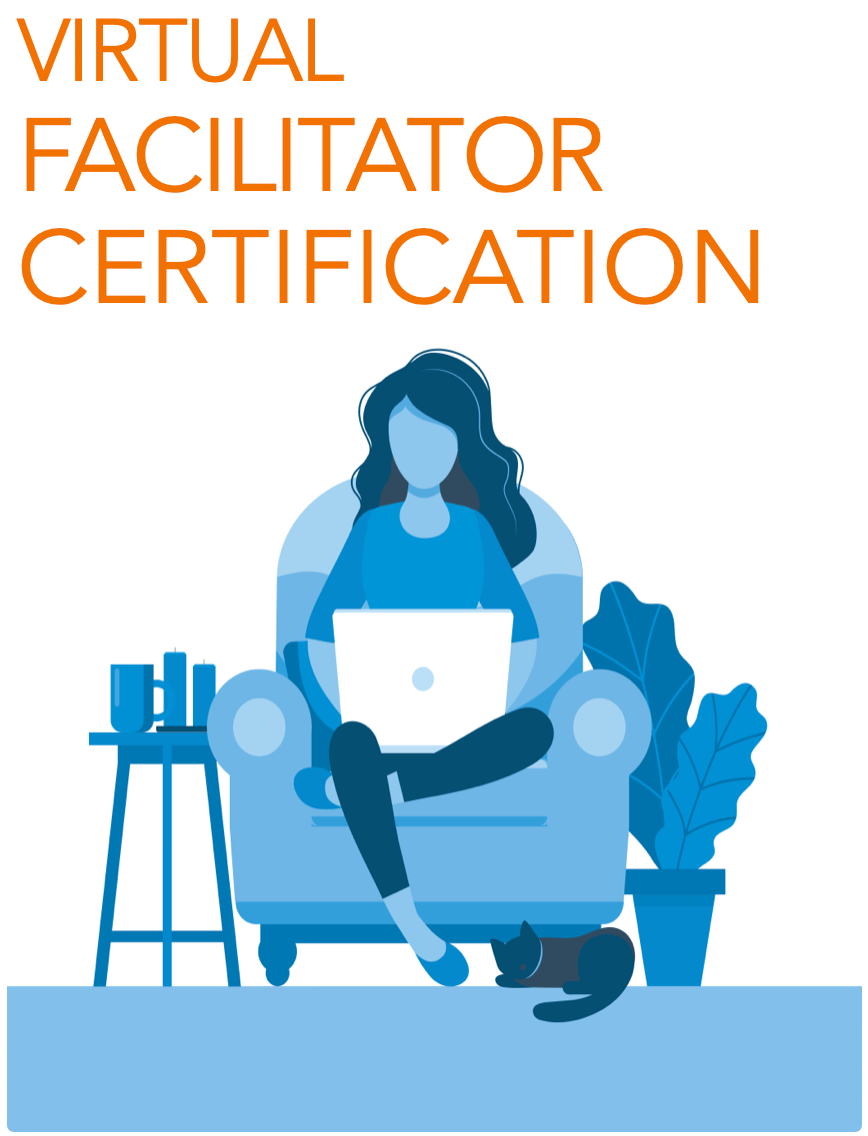 Blueprint of We 8 Session VIRTUAL Facilitator Certification - Foundation Level