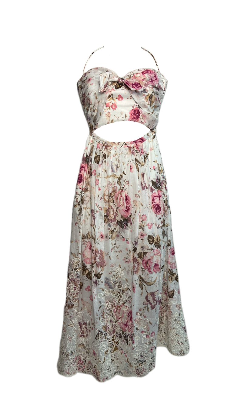 Zimmerman Bow Dress Pre-owned