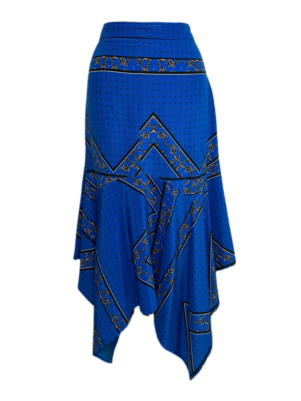 Ganni Silk Skirt Pre-Owned