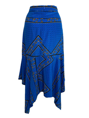 Ganni Silk Skirt