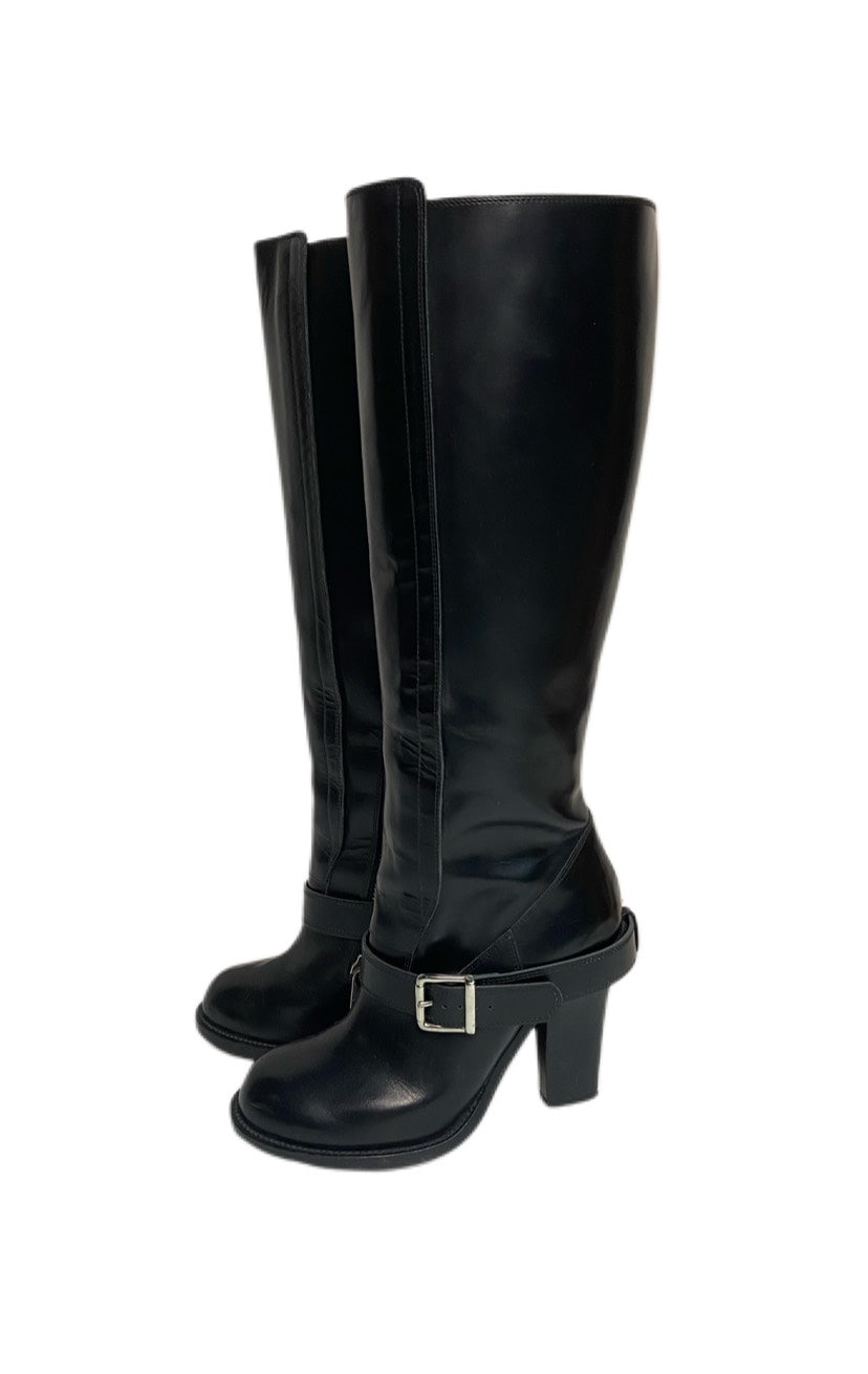 Chloe Buckle Tall Boot