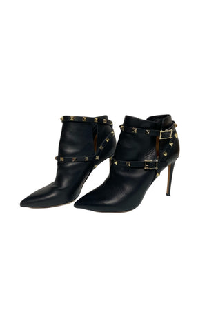 Valentino Studded Heeled Booties