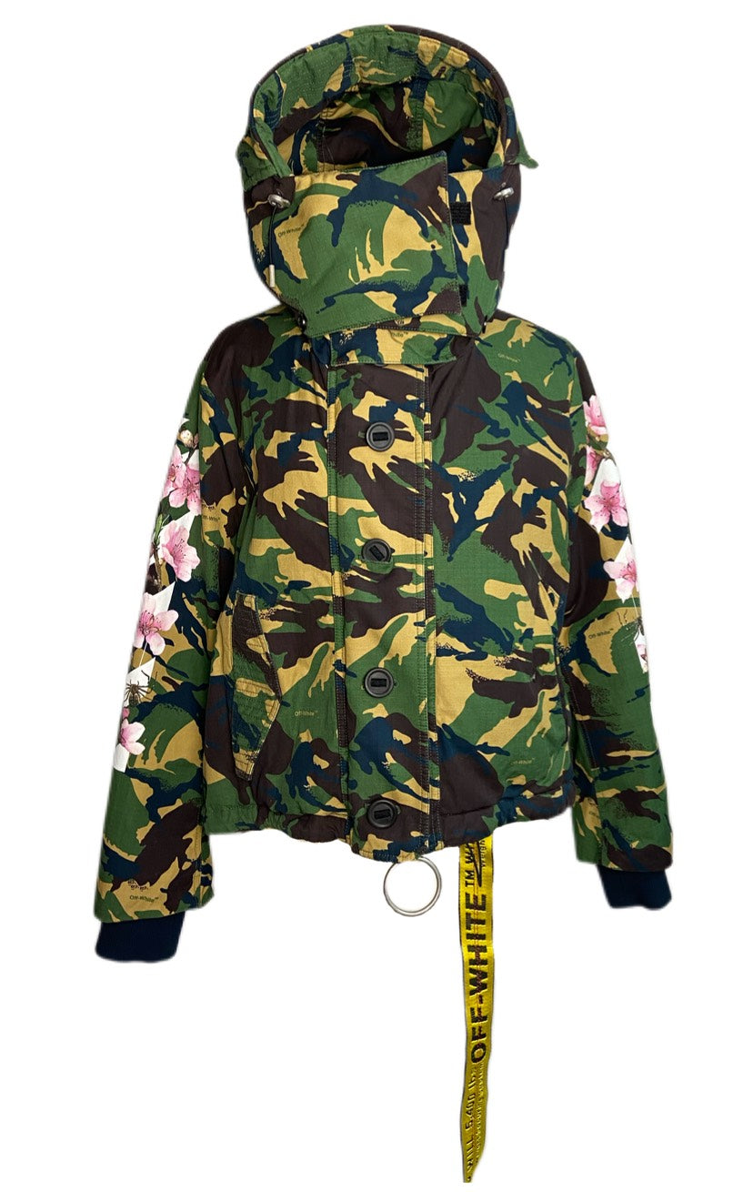 Off-White Camo/Floral Jacket