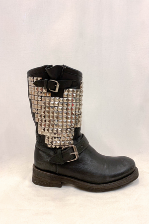 Ash Studded Leather Boots