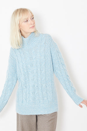 Tomorrowland Cable Turtleneck