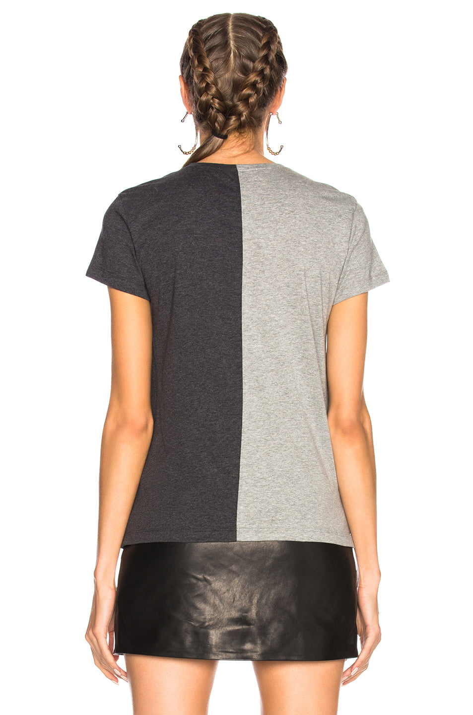 Valentino Split Printed Graphic Tee
