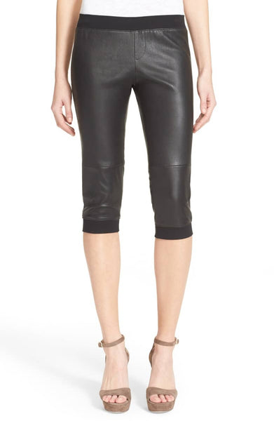 ATM Leather Crop Pants