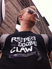 Respect the Double Claw: Unisex Tee