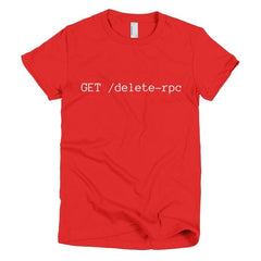 HTTP Verb Soup: Women's Tee