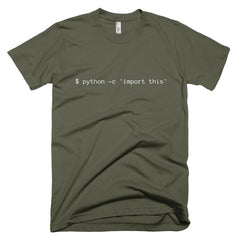Import This: Unisex T-shirt