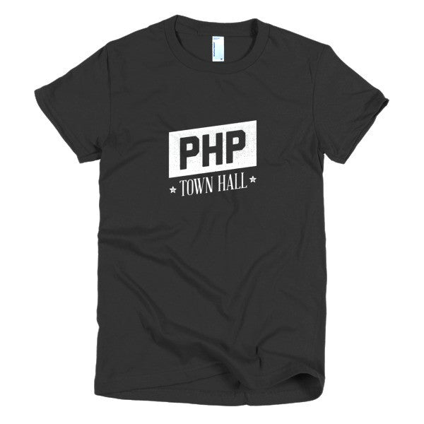 PHP Town Hall: Women's Tee