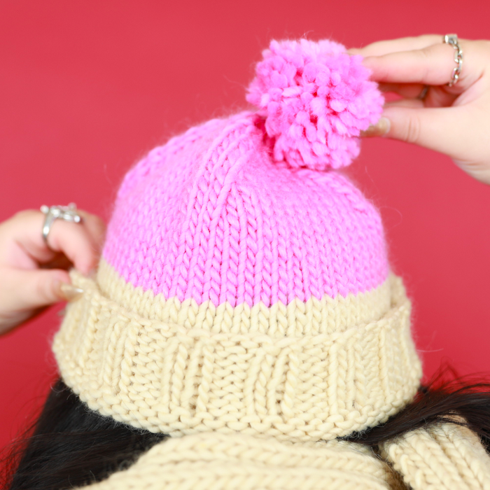 How to make our Two Tone Beanie