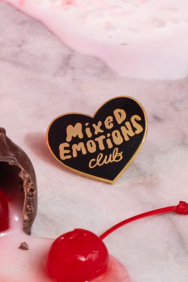 Mixed Emotions Club™ Pin black