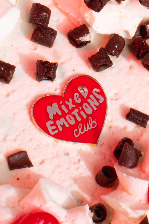 Mixed Emotions Club™ Pin red