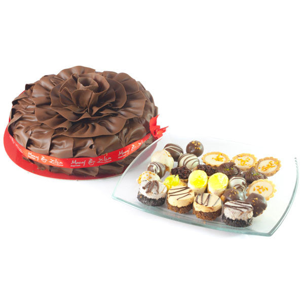 Delightful Chocolate Fantasy Cake & tart assortment