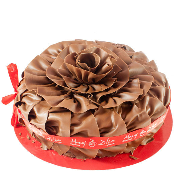 Delightful Chocolate Fantasy Cake