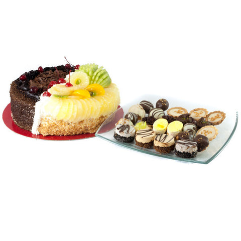 Half N Half Cake & tart assortment