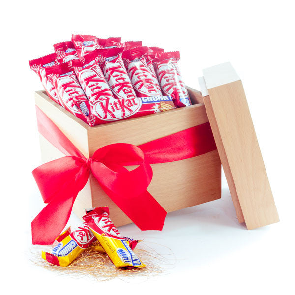 Kit kat chunky® chocolates Cubic gift box