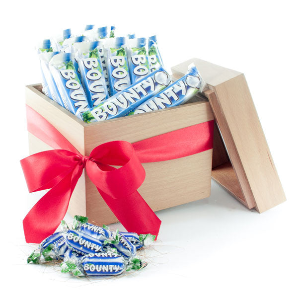 Bounty® chocolates cube box