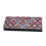 Cross Stitch Woman Wallet 3
