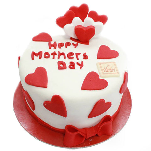 sweetheart cake, Happy Mothers Day