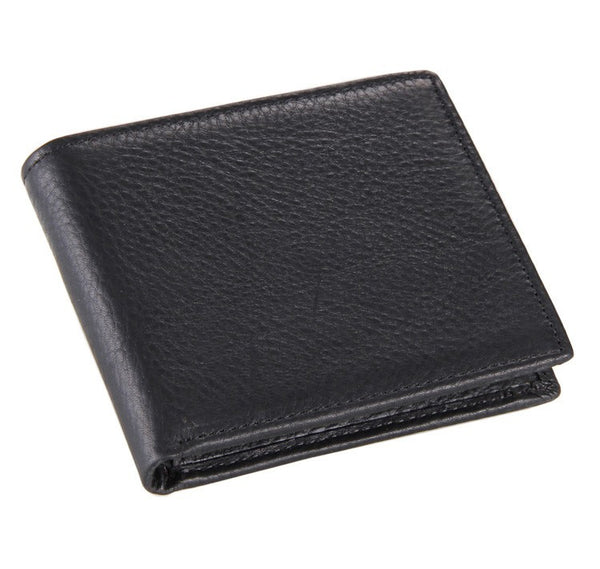Business Men's Leather Purse Wallet Billfold