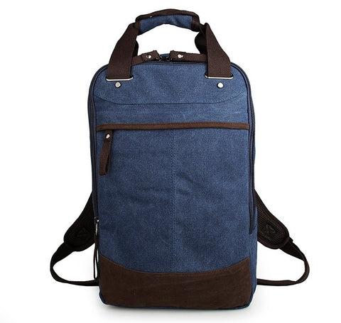 Popular Top Quality Large Capacity Men's Canvas Backpack Laptop