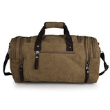 Coffee Wholesale High Quality Canvas Unisex Travel Bag